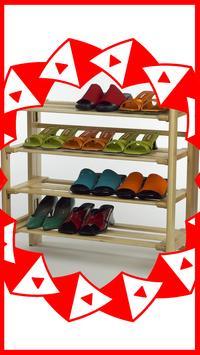 DIY Shoe Rack Ideas poster