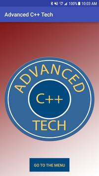 Advanced C++ Tech poster