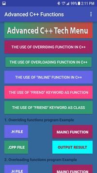 Advanced C++ Tech screenshot 4