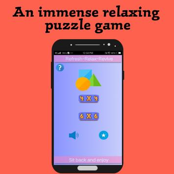 LIU || Relaxing puzzle game poster