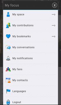 Focus depart apk screenshot
