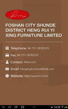 Heng Xing Office Furniture HD screenshot 4
