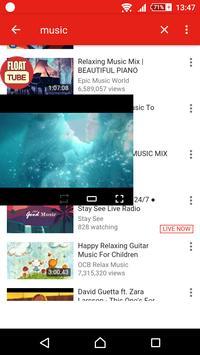 Float Tube Pro - Floating Window ( Popup mode ) apk screenshot