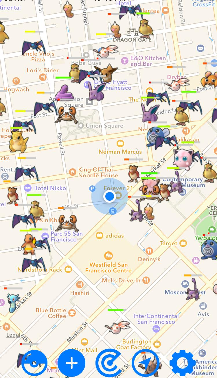 Mapa Pokemon Go 2017.Pokemon Go Map Radar For Android Apk Download