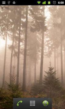 foggy live wallpaper apk screenshot
