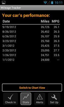 Mileage Tracker screenshot 2