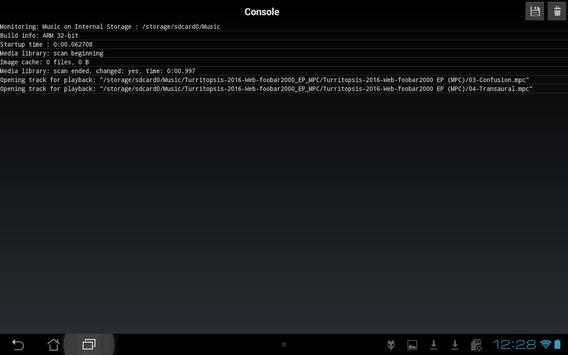 foobar2000 apk screenshot