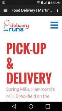 Food Delivery Frederick poster