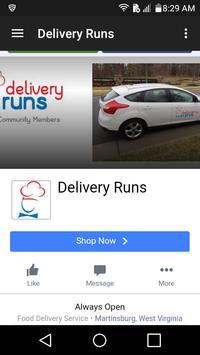 Food Delivery Frederick screenshot 1