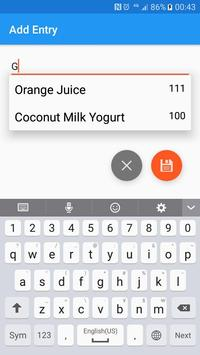 Food Journal And Simple Calorie Counter screenshot 12