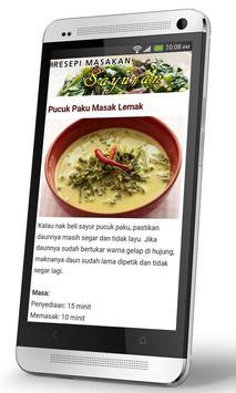 Resepi Masakan Melayu apk screenshot