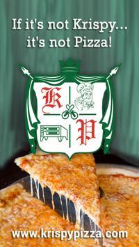 Krispy Pizza poster