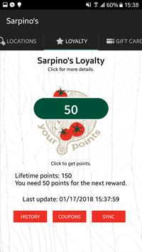 Sarpino's Pizzeria screenshot 2