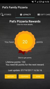 Pat's Family Pizzeria screenshot 4
