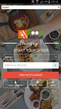Food avenue - Food Delivery poster