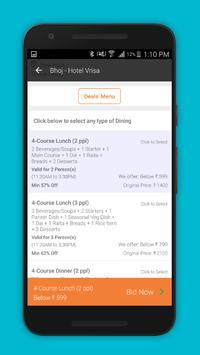 Foodbid apk screenshot