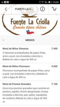 Fuente la Criolla screenshot 2
