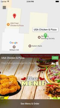 USA Chicken & Pizza Didcot apk screenshot