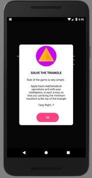 Solve The Triangle apk screenshot