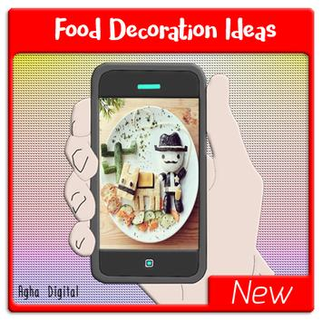 New Food Decoration Ideas poster