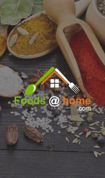 Foodathome poster