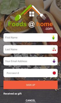 Foodathome screenshot 2