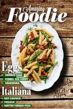 Italian Recipes App - Foodie poster