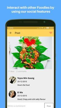 Foodie Myanmar screenshot 4