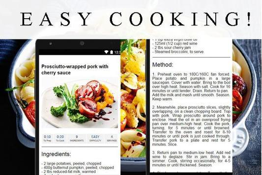 Foodiest: healthy Recipes 🍔 screenshot 1