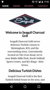 Seagull Charcoal Grill poster