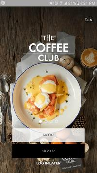 THE COFFEE CLUB Thailand poster