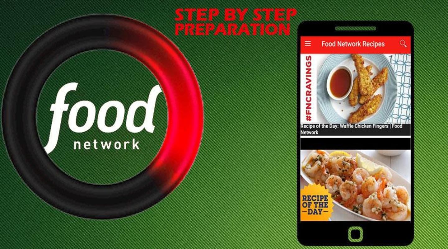 Recipes Food Network For Android Apk Download
