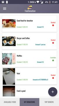 FooDonation- Share food for Bangladesh screenshot 3