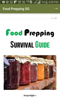 Food Prepping Survival Guide poster