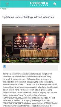 Foodreview apk screenshot