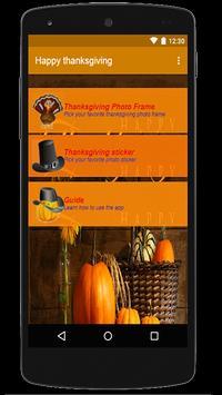 Happy thanksgiving screenshot 3