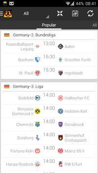 German Soccer - 2. Bundesliga poster