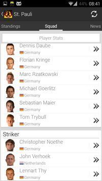 German Soccer - 2. Bundesliga screenshot 1