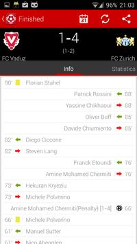 Swiss football - Super League screenshot 4