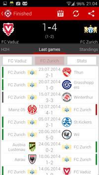 Swiss football - Super League screenshot 5
