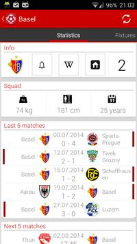Swiss football - Super League screenshot 1