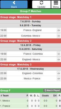 Women Football WC 2015 Schedu. screenshot 3