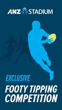 ANZ Stadium Footy Tipping poster