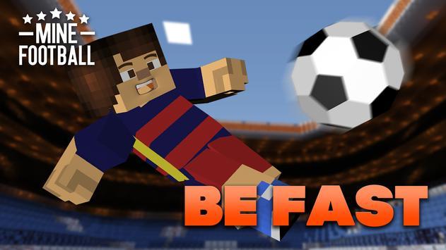 Mine football apk screenshot