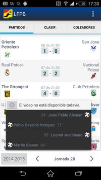 LFPB, Liga de Fútbol Boliviano screenshot 2