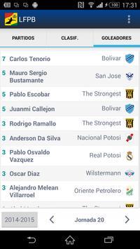 LFPB, Liga de Fútbol Boliviano screenshot 5