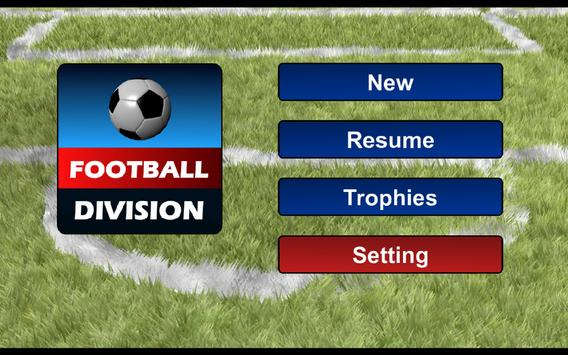 Football Division apk screenshot