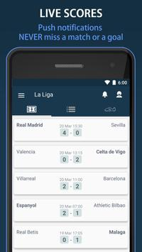 Scores for La Liga Santander - Spain poster
