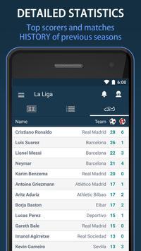 Scores for La Liga Santander - Spain screenshot 2