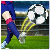 Football perfect kicks icon